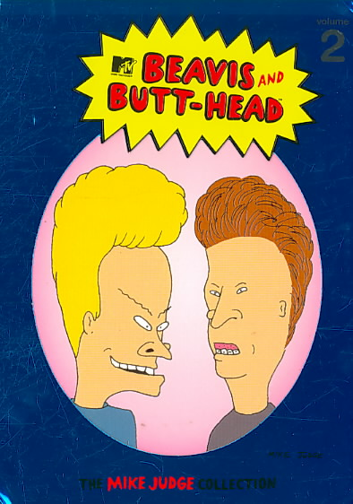 BEAVIS & BUTT HEAD:MIKE JUDGE COL V2 BY BEAVIS & BUTT-HEAD (DVD)