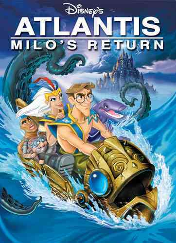 ATLANTIS:MILO'S RETURN (DVD)